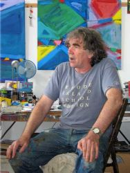 anthony frost in his studio penzance